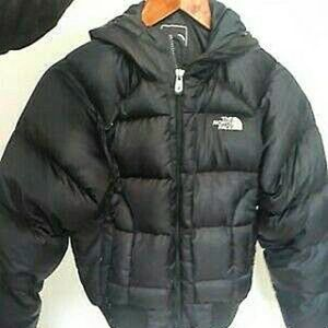 North Face Puffy Bomber Jacket 550
